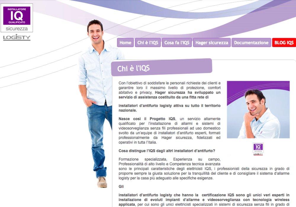 CERTIFICAZIONE IQS Servizio altamente qualificato per l'installazione di allarmi